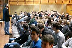 Vortrag bei den Schulbrüdern Strebersdorf