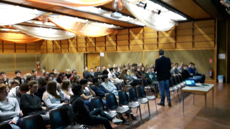 Vortrag bei den Schulbrüder Strebersdorf